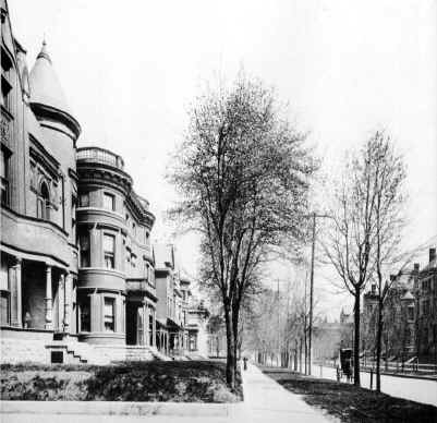 Third Avenue in 1897