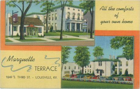 Vintage Post Cards Of Old Louisville Schools